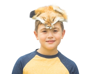 Red Fox Face Mask red fox face masks, fox halloween masks, fox face halloween masks