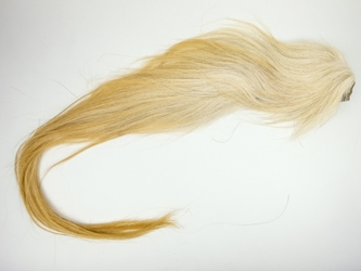 Tanned Horse Tail: Blonde