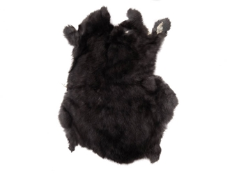 Gift Shop Rabbit Skin: Natural Black