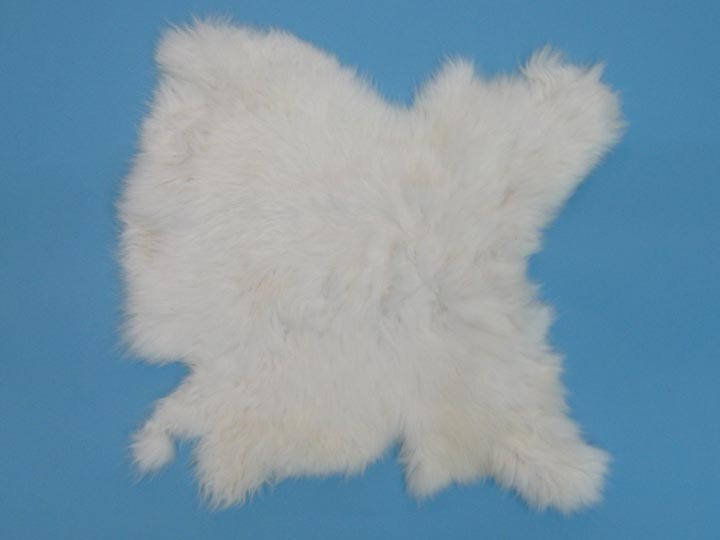 Poubelle Rabbit Skin: White