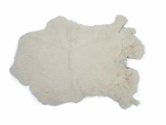 Dyed Rabbt Skin: Off White