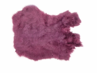 Dyed Rabbt Skin: Light Purple