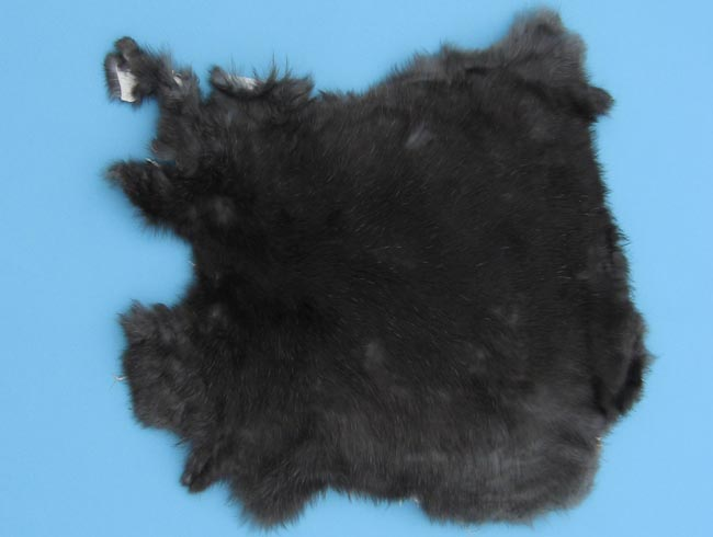 Trading Post Rabbit Skin: Mixed Natural Colors