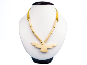 Iroquois Bone Eagle Necklace