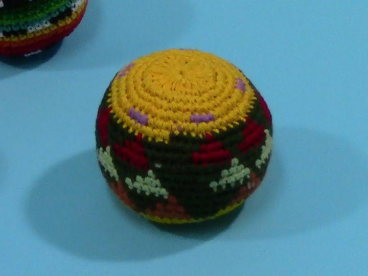 Mayan Bead Ball: Assorted Colors