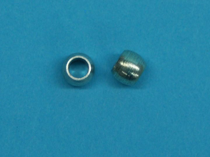 "1/4"" Solid Nickel Beads (1000/bag) nickel beads"