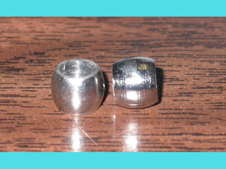"5/16"" Solid Nickel Beads (1000/bag) nickel beads"