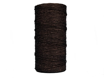 Waxed Thread: 4 oz Spool: Brown