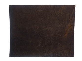 Distressed Woodland Pig Leather: Natural: Project Piece