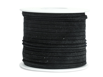"Suede Lacing 1/8"": Black"