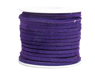 "Suede Lacing 1/8"": Royal Purple"