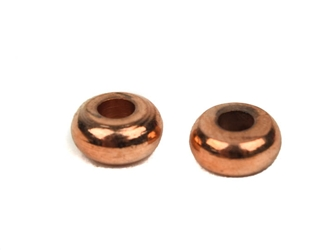 6mm Copper-Plated Solid Brass Beads (kg) brass beads