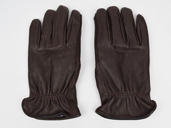 Brown Mens Deerskin Gloves deer leather gloves