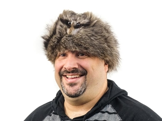 Real Davy Crockett Hat with Face davy crockett hats with faces, raccoon fur hats