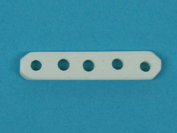 Bone Spacers: 5-hole (100/box)