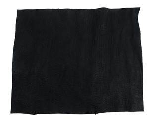 Deerskin Leather: #1/#2: Project Piece: Black