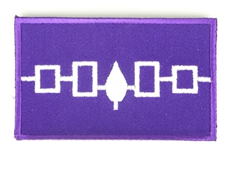 Hiawatha Flag Patch