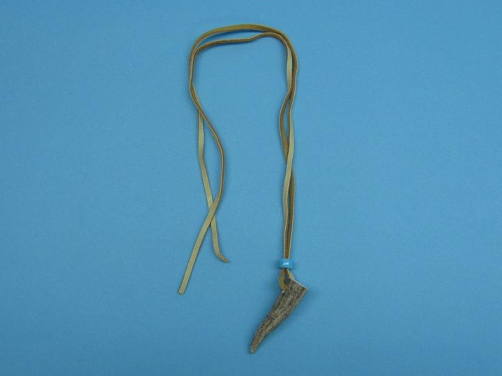 1-Antler Tip Necklace