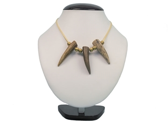 3-Antler Tip Necklace