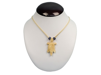 Bone Turtle Necklace