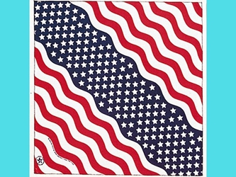 Stars & Stripes Bandanna