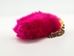 Dyed Rabbit Foot Keychain: Pink - 42-02PK (L9)
