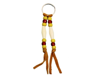 Iroquois Beaded Keychain