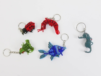 Beaded Keychain: Assorted Styles