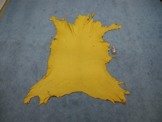Elk Leather: #2: Prairie Gold (sq ft)