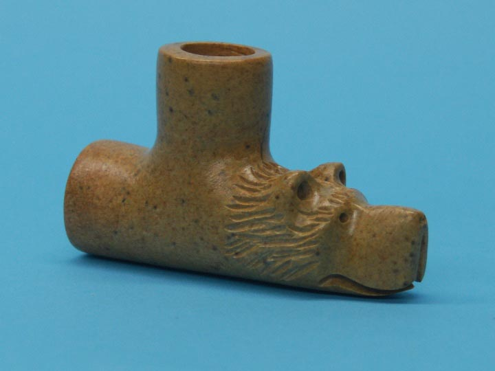 Iroquois Bear Pipe Bowl