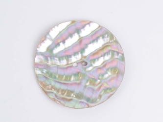 "Australian Abalone Button: 100-Line (63.5mm or 2.5"")"