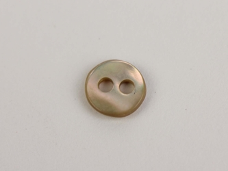 "Australian Abalone Button: 10-Line (6.35mm or 0.25"")"
