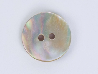 "Australian Abalone Button: 20-Line (12.7mm or 0.5"")"