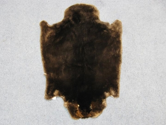 Sheared Beaver Rug: Assorted