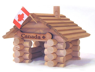 Log Cabin Kit: Canadian