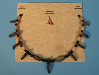 Real 9-Claw Bear Necklace