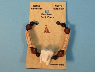 Real 1-Molar Bear Necklace