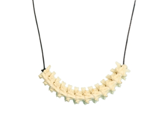 Red Tail Boa Vertebrae Necklace