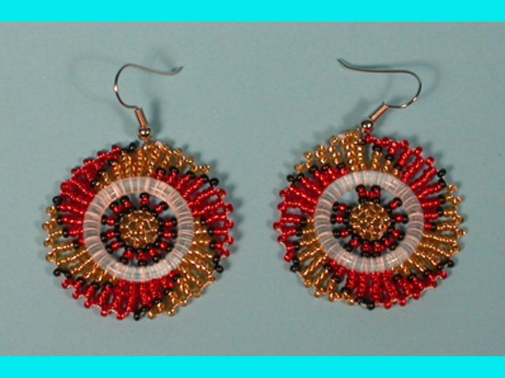 Zulu Beaded Earrings
