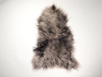Dyed Icelandic Sheepskin: 90-100 cm: Light Silver Dark Tops: Assorted