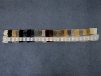 Australian Sheepskin Shearling Color Swatch