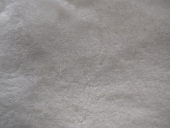 "Australian Sheepskin Shearling: 1"": Natural White (sq ft)"