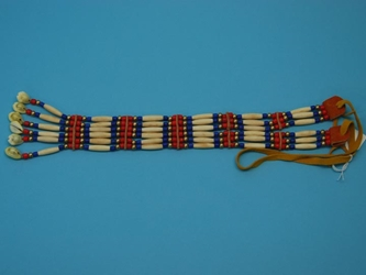 Iroquois Cow Bone Yoke Necklace