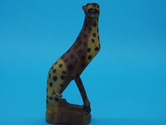 African Hyena Wood Carving