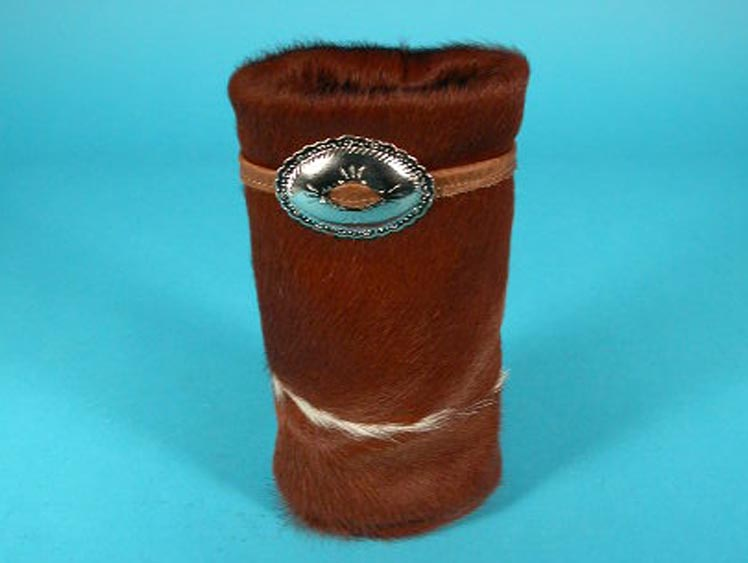 Cow Skin Wine Bottle Cover