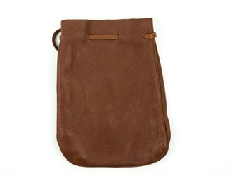 Top Grain Deerskin Medicine Bag: Assorted Colors