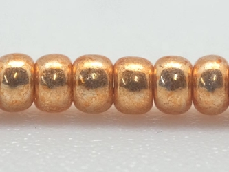 10/0 Czech Glass Seedbead Gold Metallic (500 g bag) glass beads