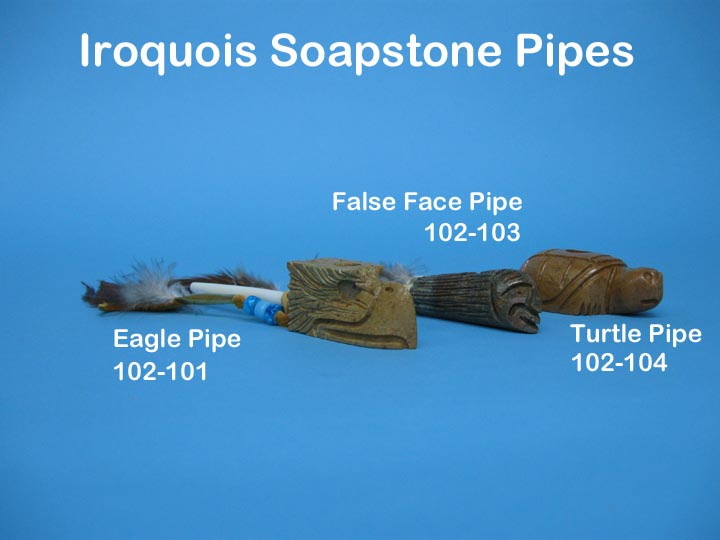 Iroquois Eagle Pipe