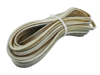 "Buffalo Rawhide Lacing: 1/4"" (30 ft) buffalo rawhide lacing bundles, buffalo rawhide lace bundles, bison rawhide lacing bundles, bison rawhide lace bundles"