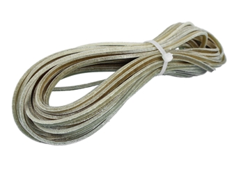 "Buffalo Rawhide Lacing: 1/8"" (30 ft) buffalo rawhide lacing bundles, buffalo rawhide lace bundles, bison rawhide lacing bundles, bison rawhide lace bundles"